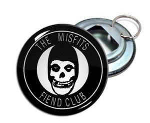 """Misfits - Fiend Club 2.25"""" Metal Bottle Opener Keychain"""