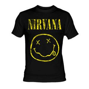 Nirvana - Smiley T-Shirt