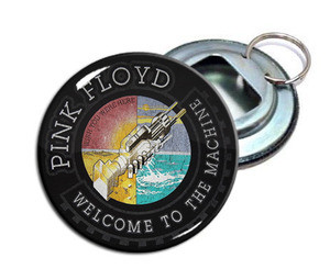 """Pink Floyd - Welcome To The Machine 2.25"""" Metal Bottle Opener Keychain"""