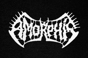 "Amorphis Logo 4.5x3"" Printed Patch"