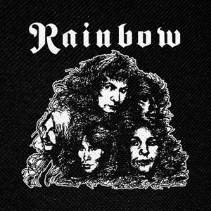 "Rainbow Band 4x4"" Printed Patch"