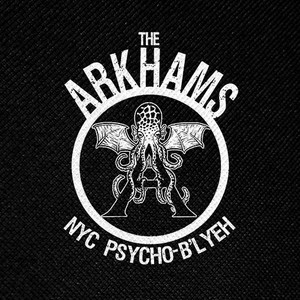 "The Arkhams - NYC Psycho-B'Lyeh 4x4"" Printed Patch"