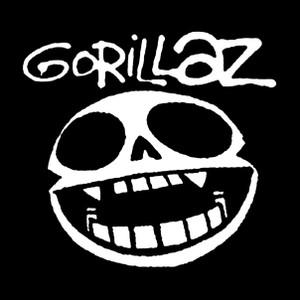 "Gorillaz - Noodle Skull Face 4x4"" Printed Sticker"