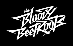 "The Bloody Beetroots Logo 4x4"" Printed Sticker"