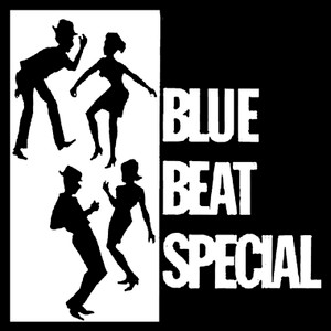 """Blue Beat Special 4x4"""" Printed Sticker"""