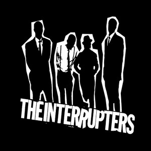 """The Interrupters Silhouettes 4x4"""" Printed Sticker"""