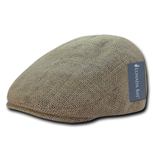 Decky - Jute Single Panel Ivy Hat