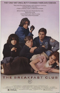 "Breakfast Club 24x36"" Poster"