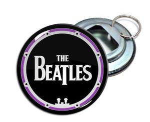 "The Beatles 2.25"" Metal Bottle Opener Keychain"
