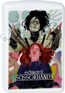 Edward Scissorhands White Lighter