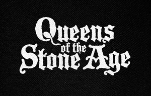 "Queens Of The Stone Age Logo 4.5x3"" Printed Patch"
