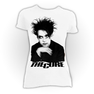 The Cure - Robert Smith White Blouse T-Shirt