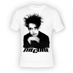 The Cure - Robert Smith White T-Shirt