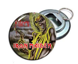 """Iron Maiden - Killers 2.25"""" Metal Bottle Opener Keychain"""
