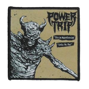 """Power Trip - Divine Apprehension 4x4"""" WOVEN Patch"""