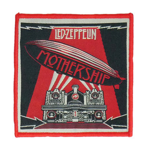 """Led Zeppelin - Mothership 4x4"""" WOVEN Patch"""