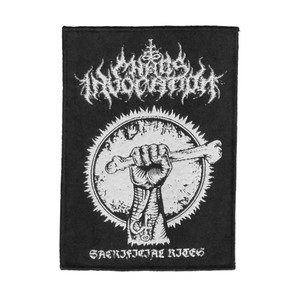 """Chaos Invocation - Sacrificial Rights 4x5"""" WOVEN Patch"""