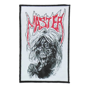"""Master -Zombie 4x5"""" WOVEN Patch"""