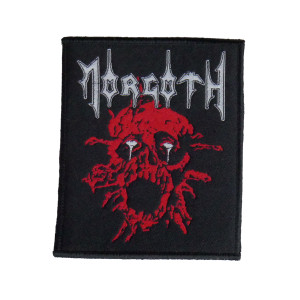 """Morgoth - Zombie 4x5"""" WOVEN Patch"""
