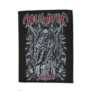 """Hellwitch - At Rest 4x5"""" WOVEN Patch"""