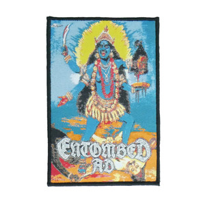"""Entombed A.D. - Kali 4x5"""" WOVEN Patch"""