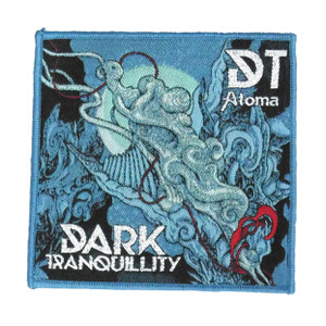 """Dark Tranquility - DT Atoma 4X4"""" WOVEN Patch"""