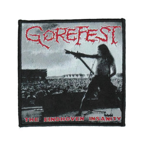 """Gorefest - The Eindhoven Insanity 4X4"""" WOVEN Patch"""