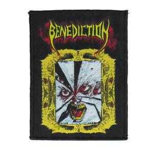 """Benediction - Mirror Face 4x5"""" WOVEN Patch"""