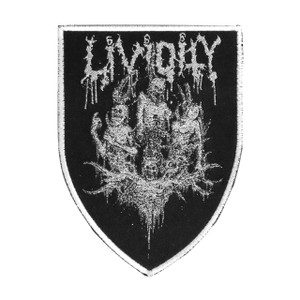 """Lividity - Corpses 4x5"""" WOVEN Patch"""
