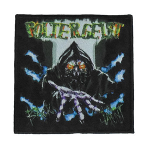 """Poltergeist - Back To Hunt 4x4"""" WOVEN Patch"""