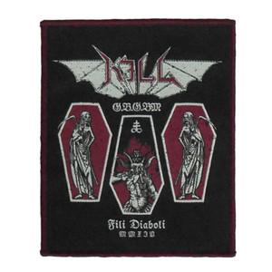 "Kill - Fili Diaboli 4x5"" WOVEN Patch"
