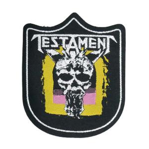 "Testament - Legacy 4x5"" WOVEN Patch"