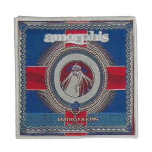 """Amorphis - Death Of A King 4x4"""" WOVEN Patch"""