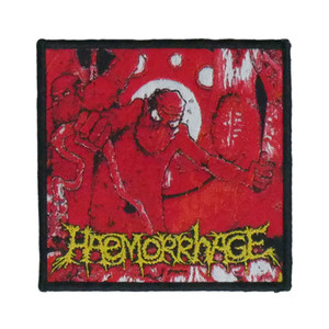 """Haemorrhage - Anatomical Inferno 4x4"""" WOVEN Patch"""