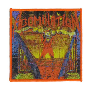 """Abomination - Album Cover 4x4"""" WOVEN Patch"""