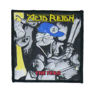"""Acid Reign - The Fear 4x4"""" WOVEN Patch"""