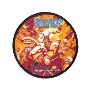 """Kreator - After The Attack 3X3"""" WOVEN Patch"""