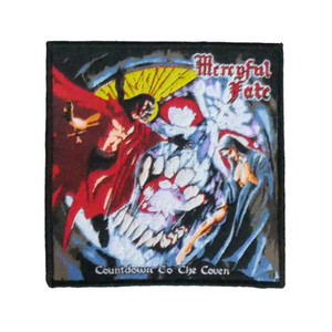 """Mercyful Fate - Countdown To The Coven 4x4"""" WOVEN Patch"""