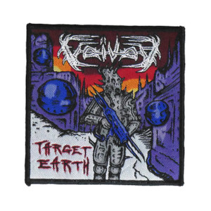 """Voivod - Target Earth 4x4"""" WOVEN Patch"""