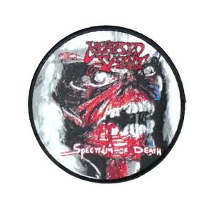 """Morbid Saint - Spectrum Of Death 4x4"""" WOVEN Patch"""