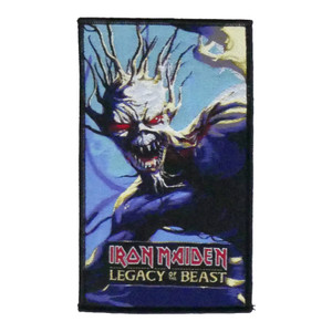 """Iron Maiden - Legacy of the Beast 5X4"""" WOVEN Patch"""