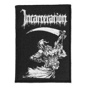 """Incarceration Reaper 3X4.5"""" WOVEN Patch"""