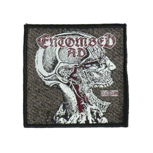 """Entombed A.D. - Dead Dawn 4x4"""" WOVEN Patch"""