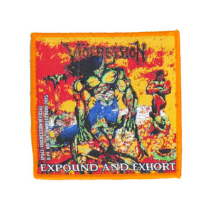 """Viogression - Expound and Exhort 4x4"""" WOVEN Patch"""