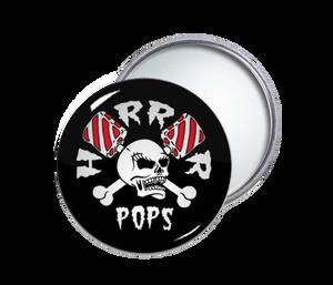 Horrorpops - Logo Round Pocket Mirror