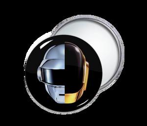 Daft Punk Round Pocket Mirror