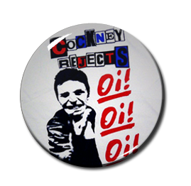 "Cockney Rejects Oi! Oi! Oi! 1"" Pin"