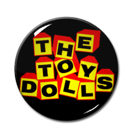 "The Toy Dolls Logo 1"" Pin"