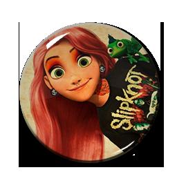 "Alternative Princess - Rapunzel 1.5"" Pin"