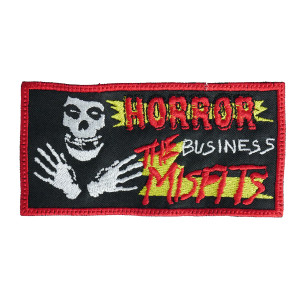 "Misfits - Horror Business 5x2.5"" Embroidered Patch"